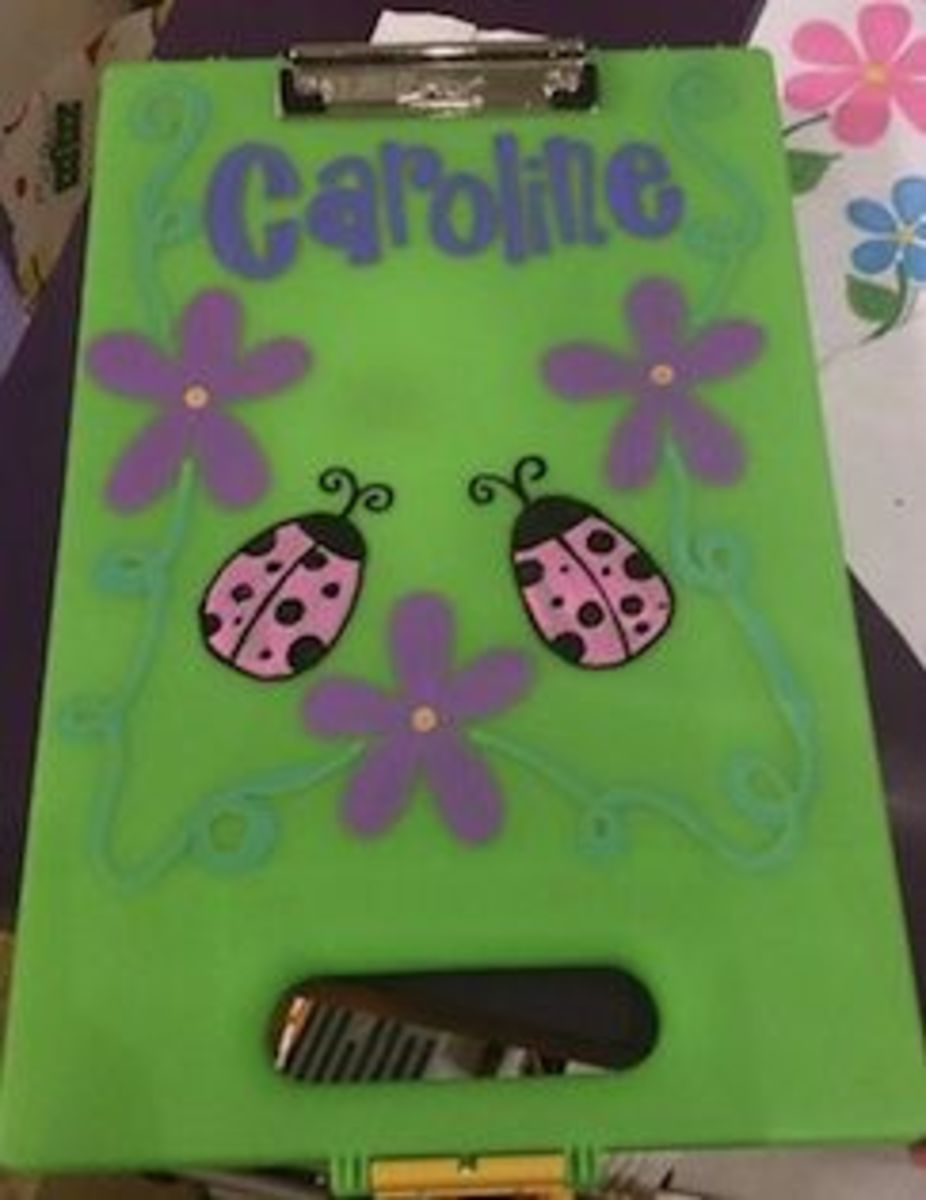Personalized clipcase for girls