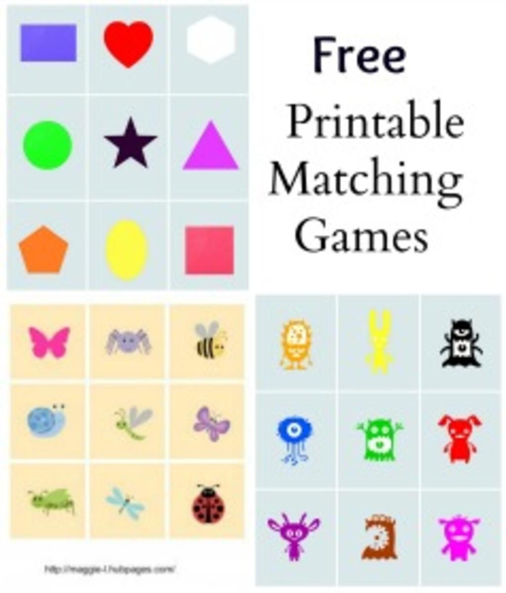 free online matching games