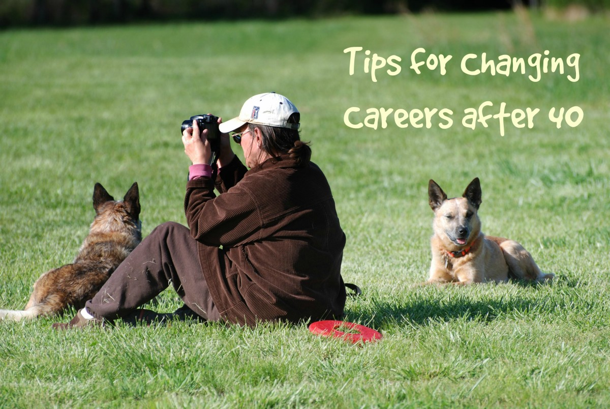Tips for Changing Careers After 40