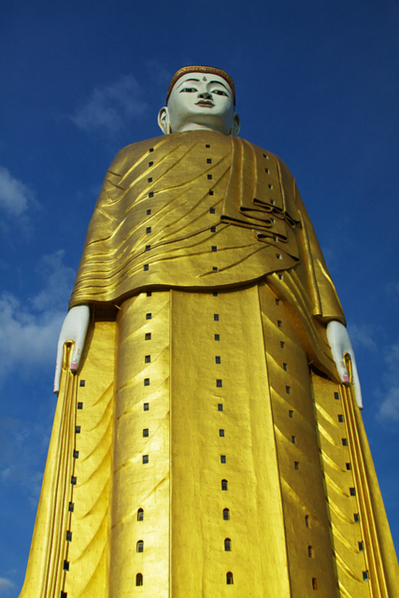 Top 10 Largest Statues of Buddha in the World