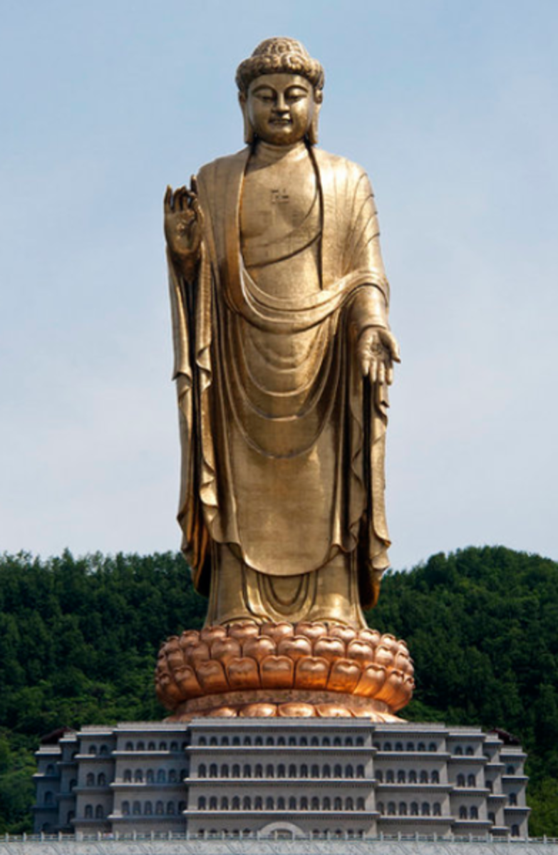 biggest buddha statue top 10 largest statues of buddha in the world hubpages 10105
