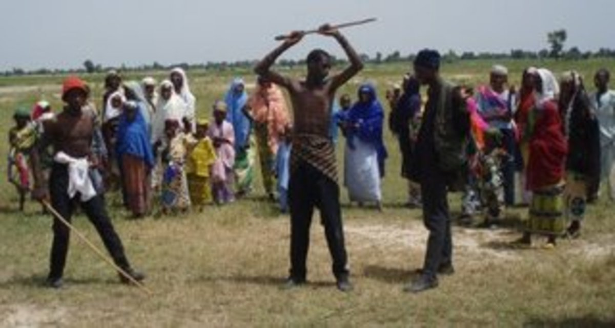 Sharo traditional flogging