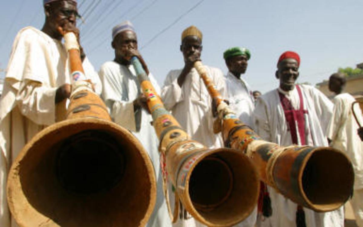 Fulani entertainers
