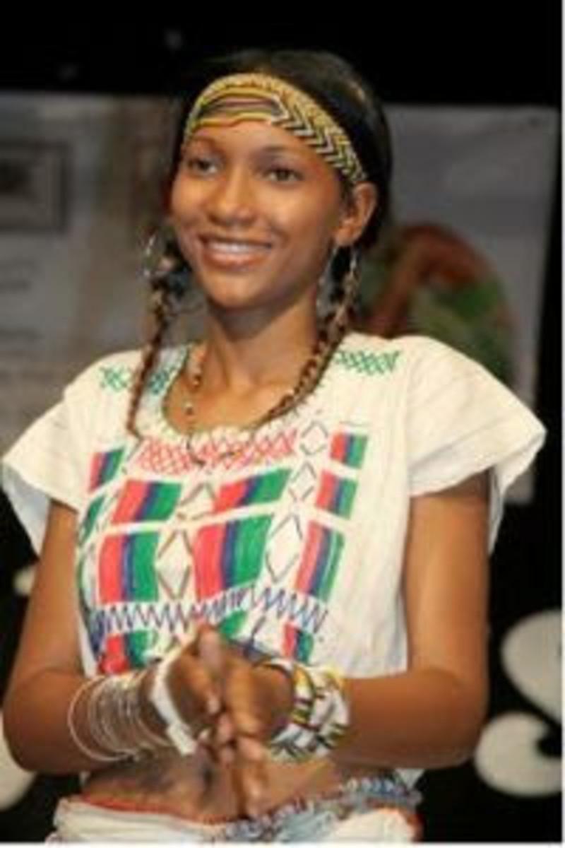 A Fulani maiden