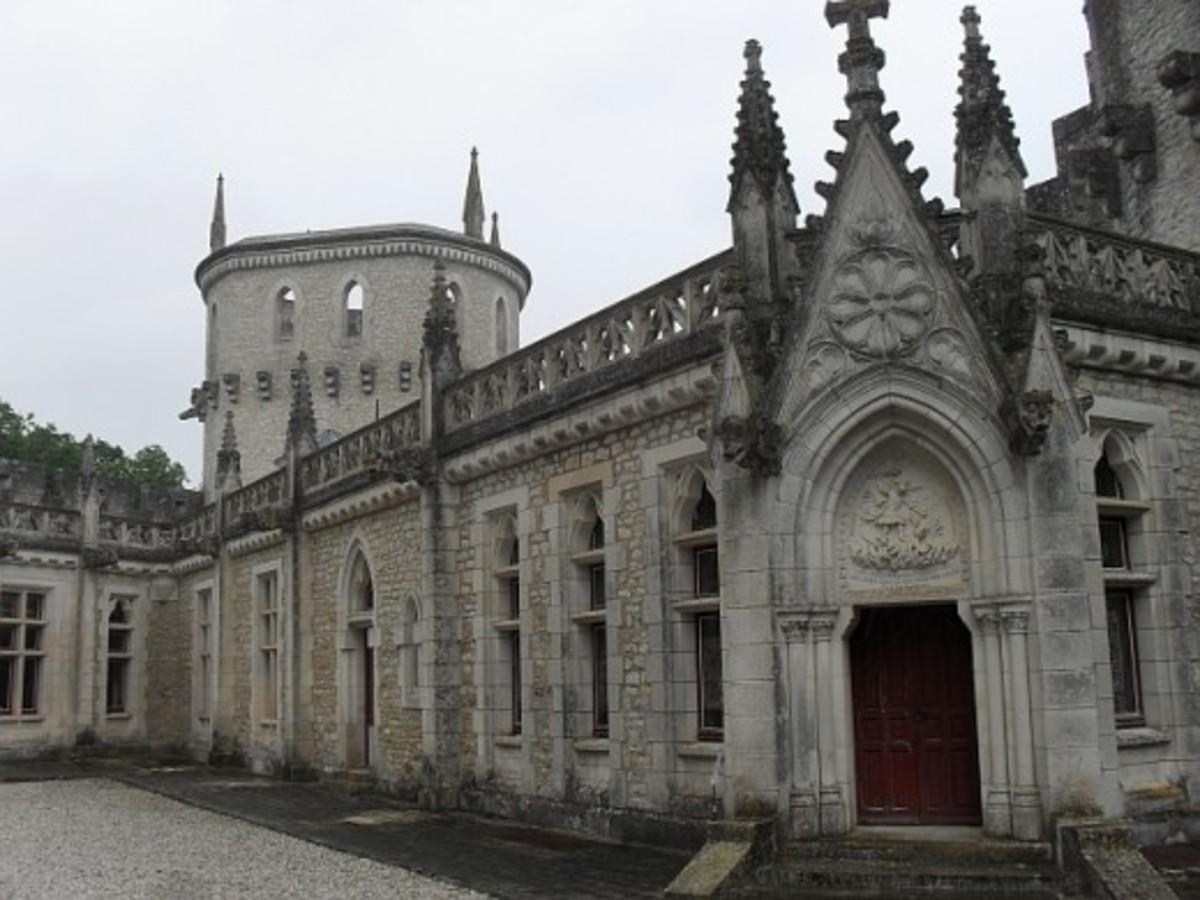 Chateau Guillaume, Lignac, Indre, France