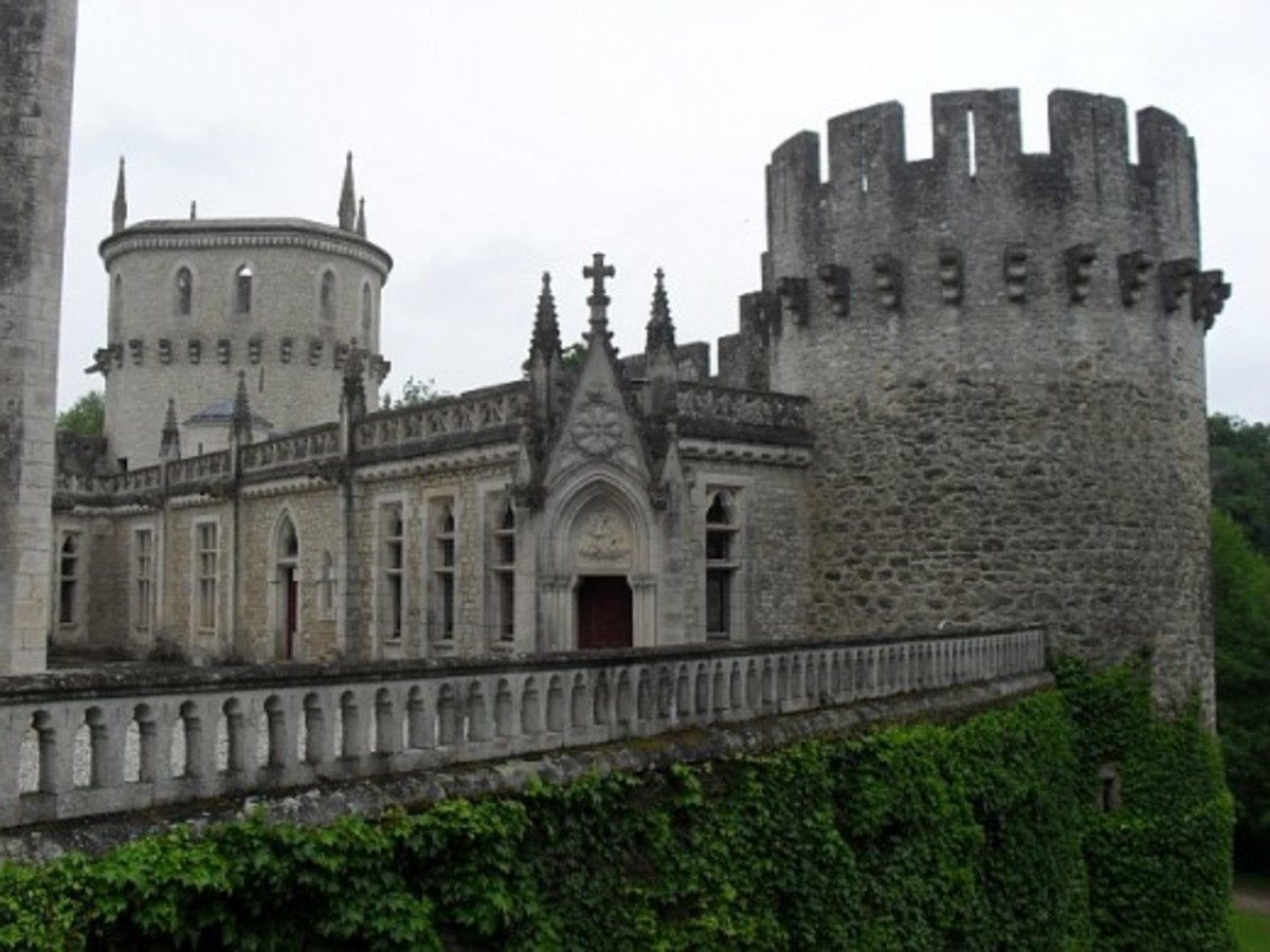 Chateau Guillaume, Indre, France