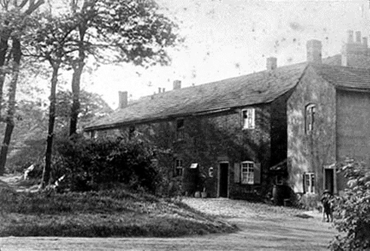The old gamekeeper's cottage in Middleton Woods.