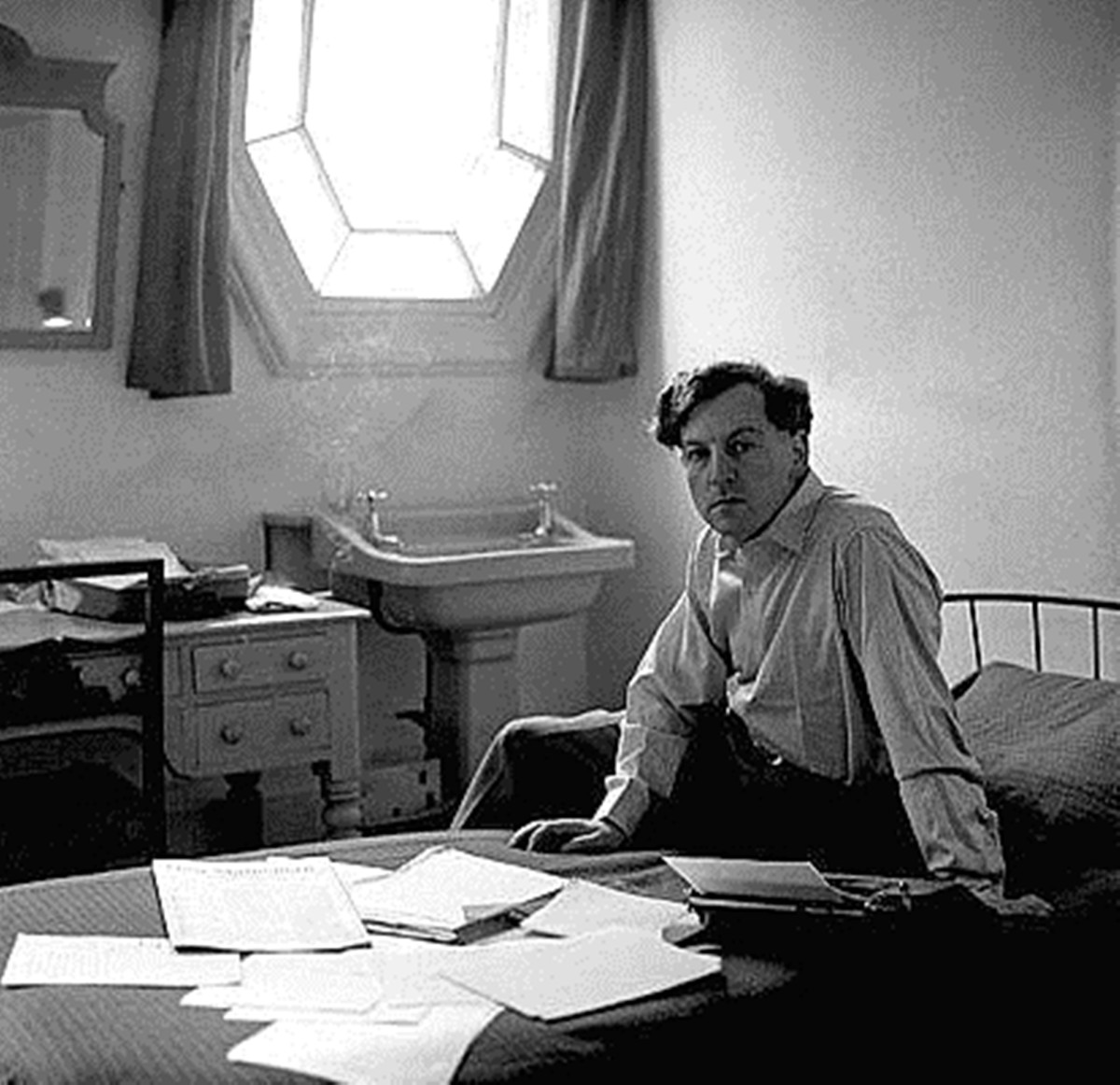 The world-famous playwright and novelist Keith Waterhouse, who lived next door to my grandma in Hunslet when my mum was a child.