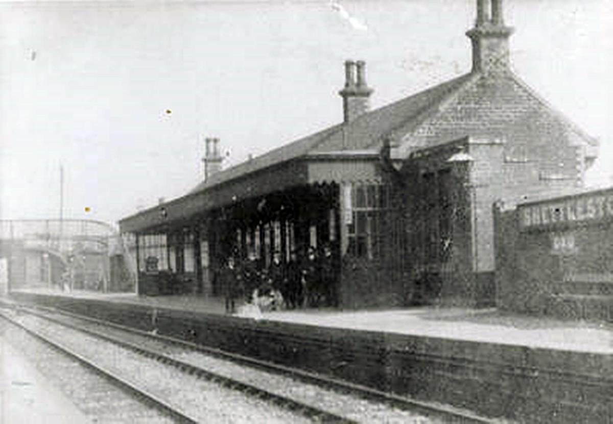 Shettleston Railway Station