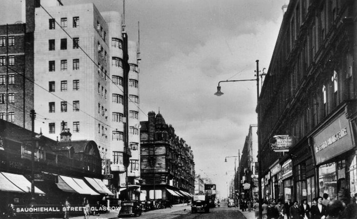Sauchiehall Street, Glasgow, 1940s