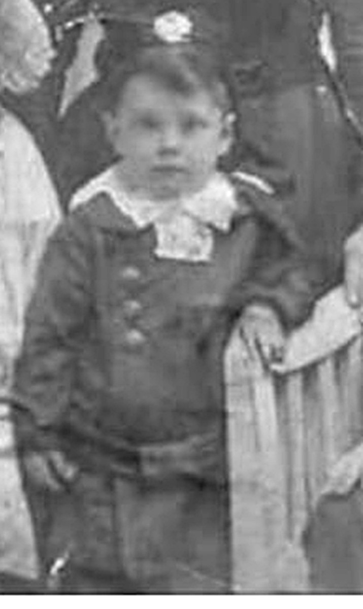 Grandma's younger brother Dennis Garnham.