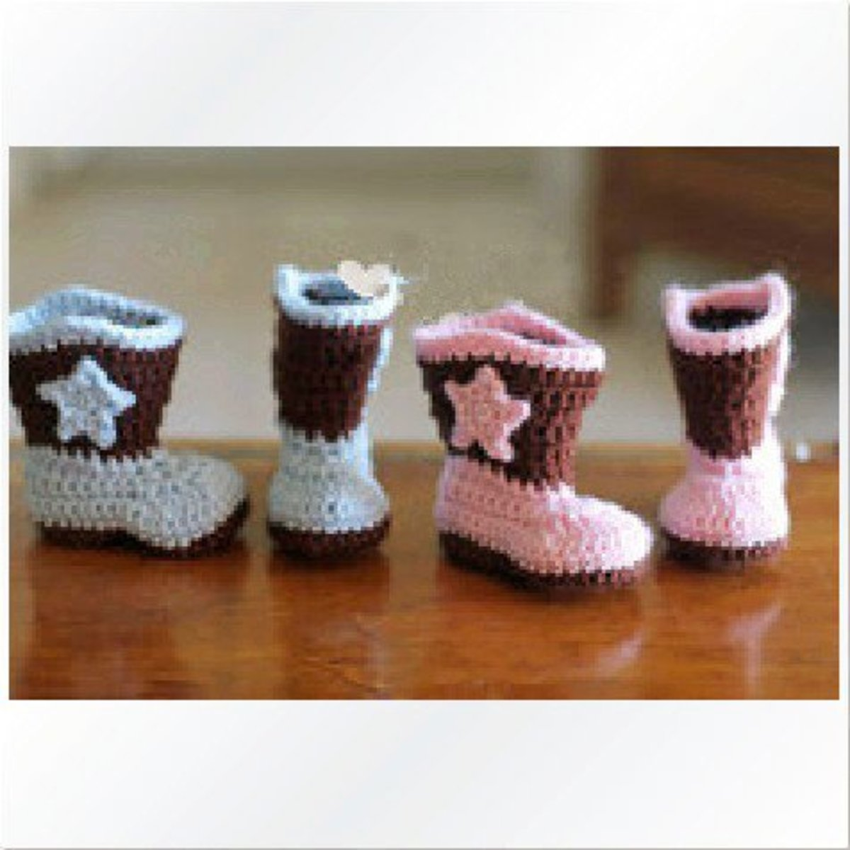 Baby cowboy boots on Amazon
