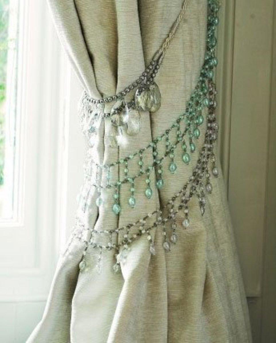 DIY Curtain Tie Backs   Easy and Creative Decor Ideas   Click for Tutorial