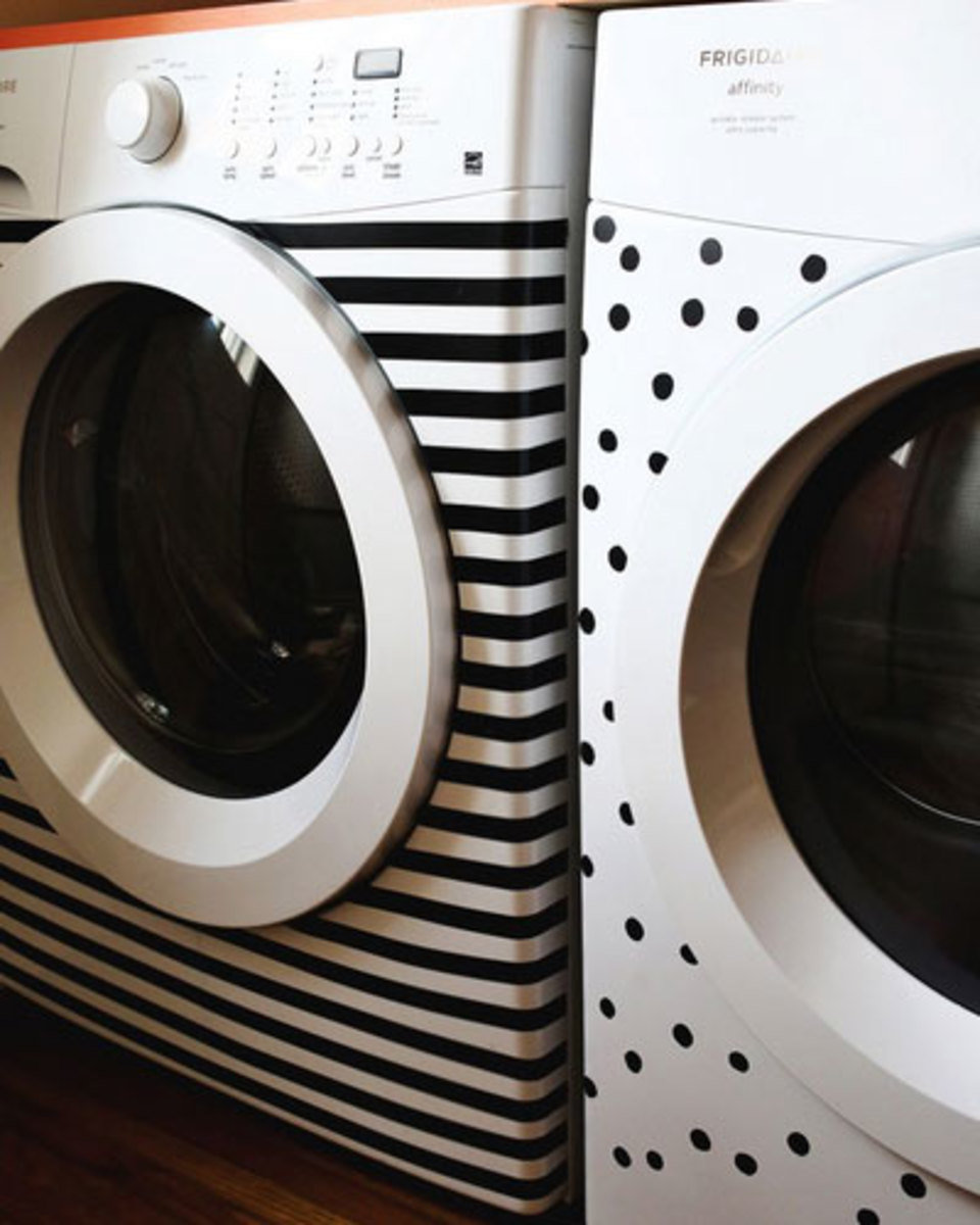 Washi Tape Ideas for Laundry Room | Easy and Creative Decor Ideas | Click for Tutorial