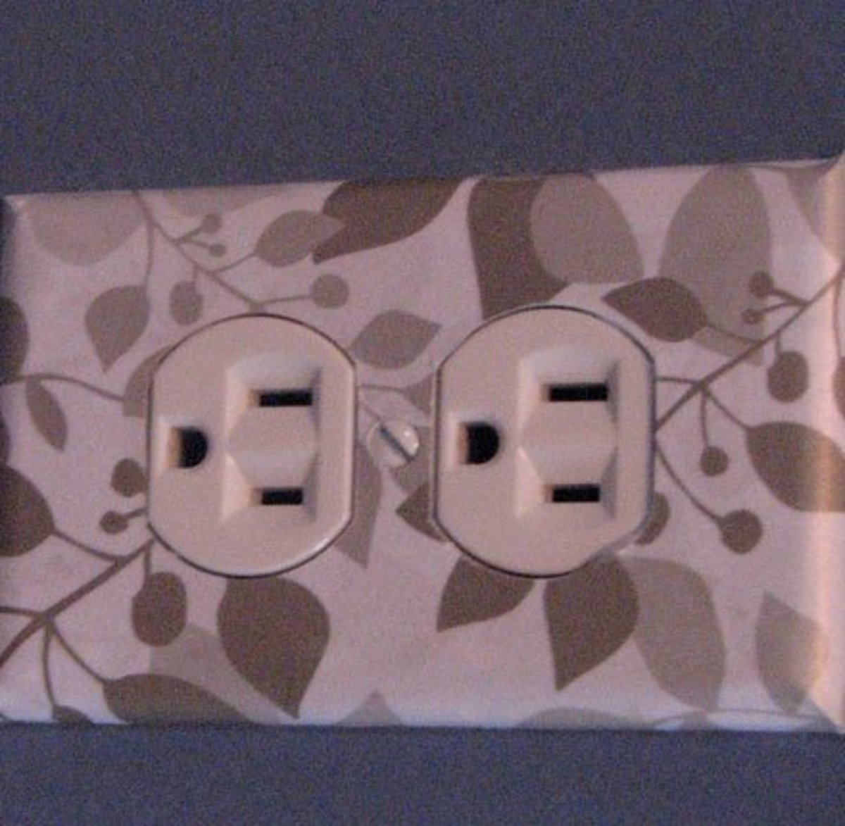 Wallpaper Covered Socket | Easy and Creative Decor Ideas | Click for Tutorial