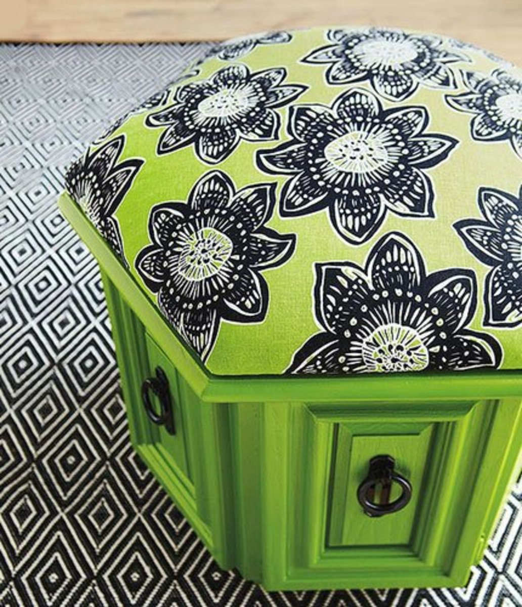 DIY Pouf Tutorial | Easy and Creative Decor Ideas | Click for Tutorial