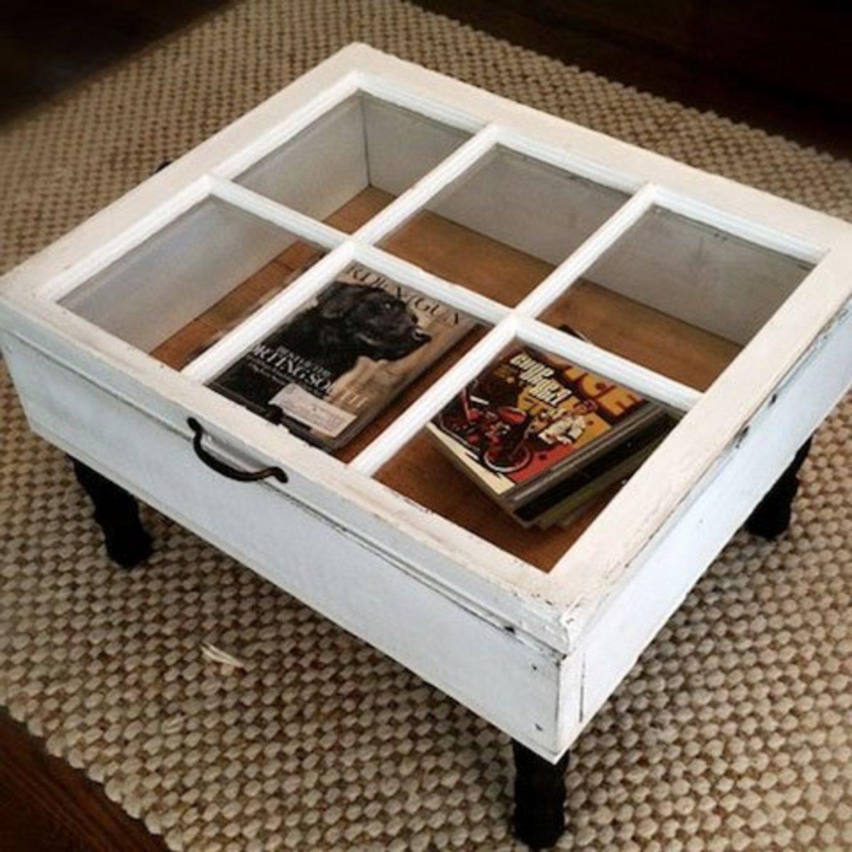 DIY Coffee Table | Easy and Creative Décor Ideas | Click for Tutorial