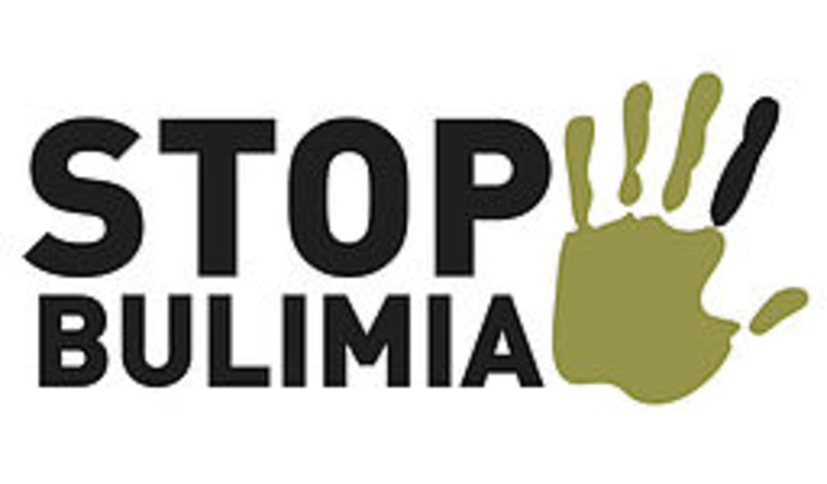 Help stop bulimia with education. Speak out and help .