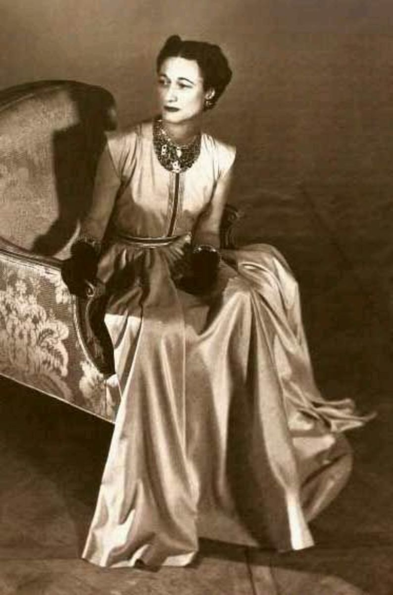 Wallis Simpson who became the Duchess of Windsor