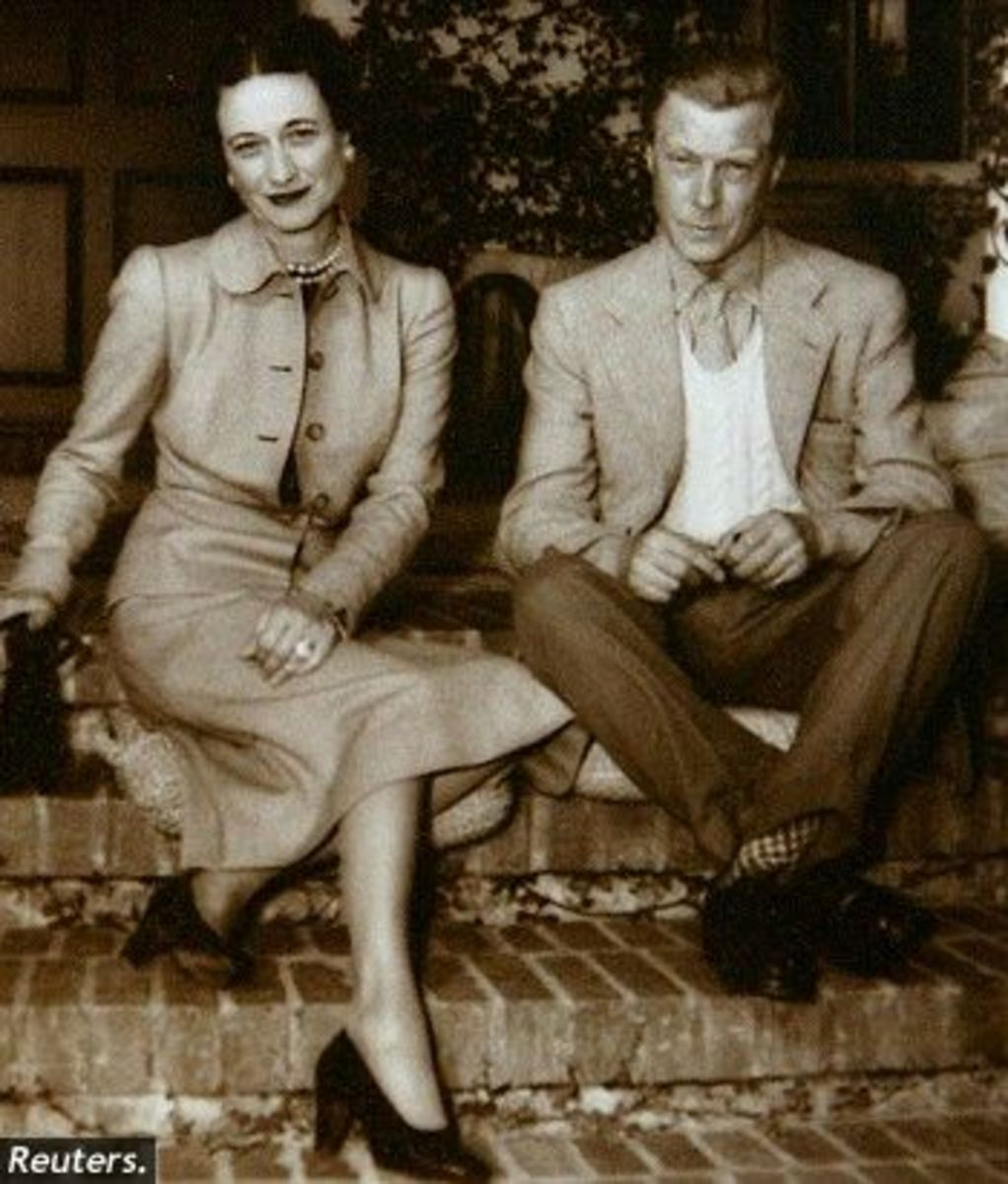 Wallis and Edward. The Duke and Duchess of Windsor