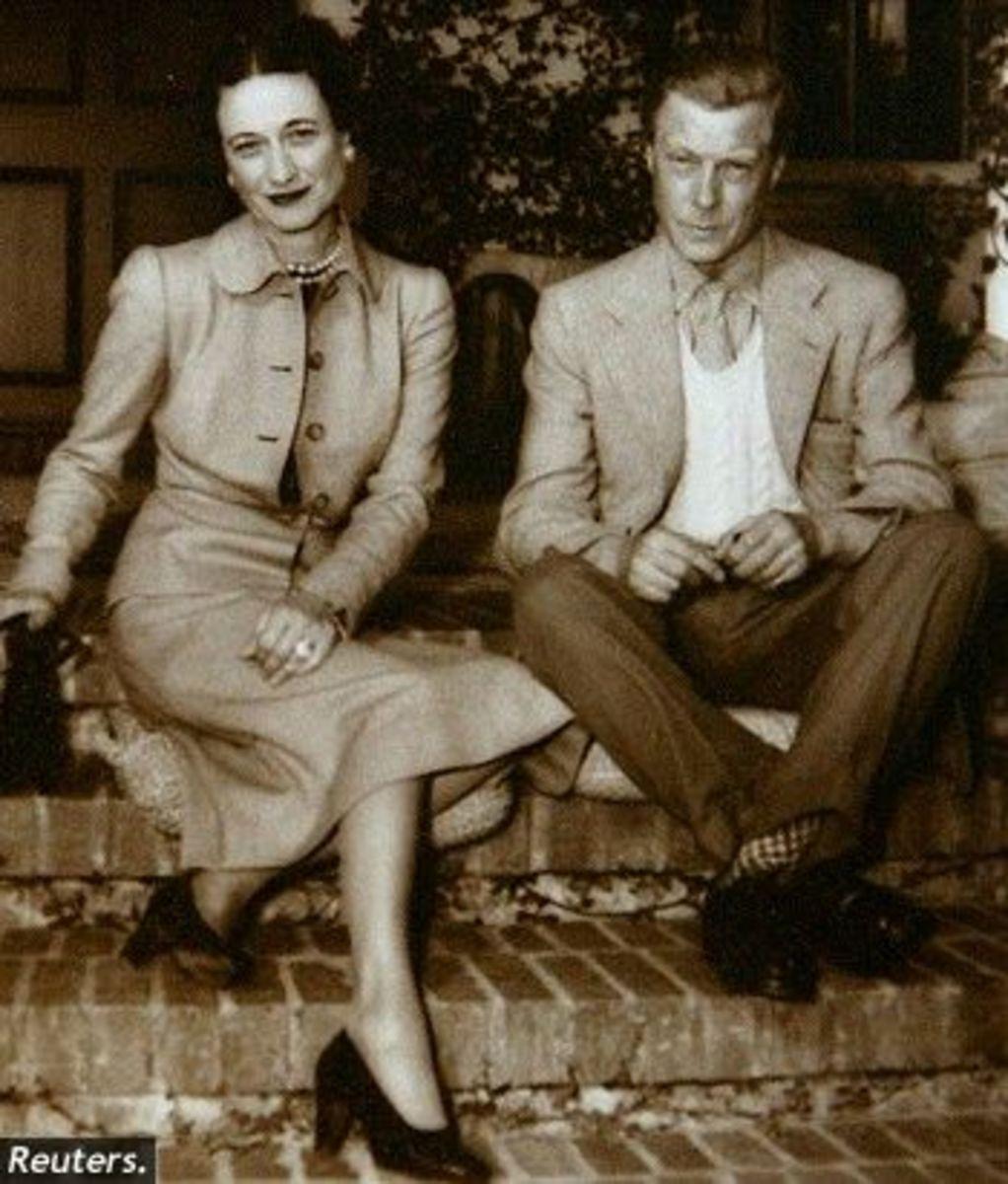 Wallis and Edward. The Duke and Duchess of Windsor