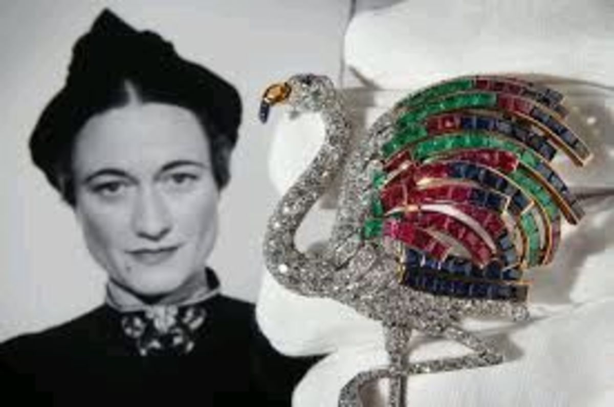 Edward spent vast amounts on jewels for Wallis Simpson