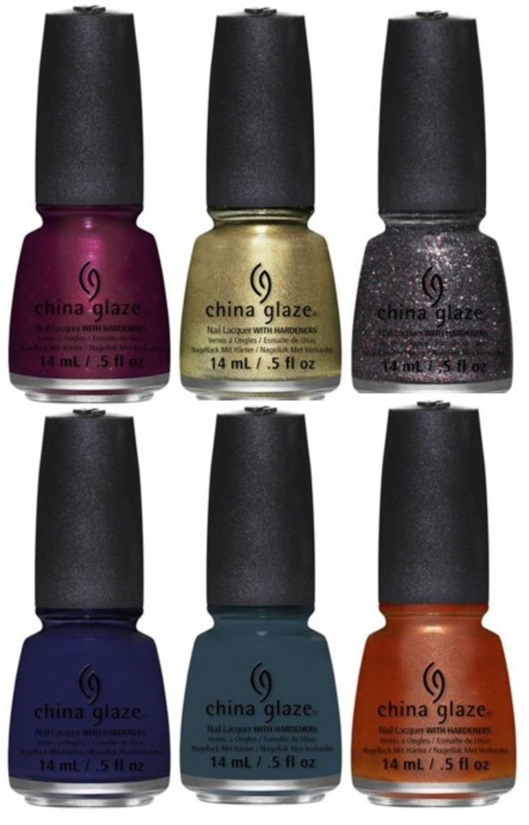 China Glaze All Aboard Fall 2014 collection - All Aboard set