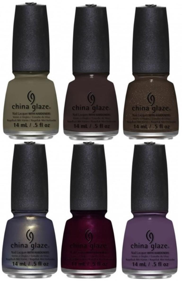 China Glaze All Aboard Fall 2014 collection - Loco-motive set