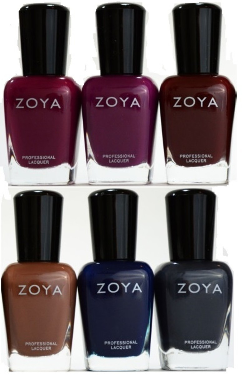 Zoya Entice Collection - Fall 2014
