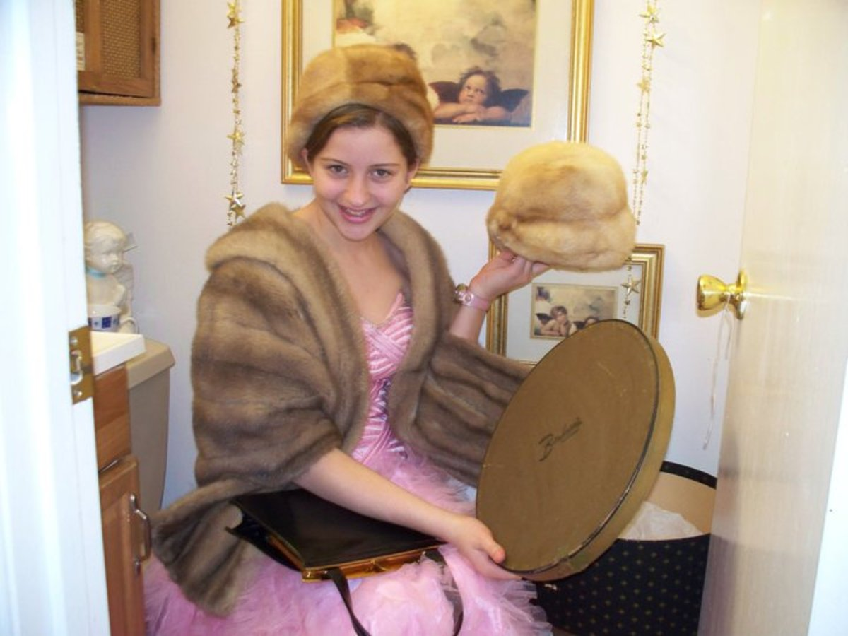 It is always important to make sure your fur hat matches your fur stole, jacket or coat. The same color pelts is a must.