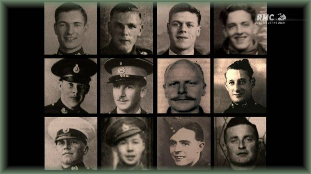 The men who undertook the mission