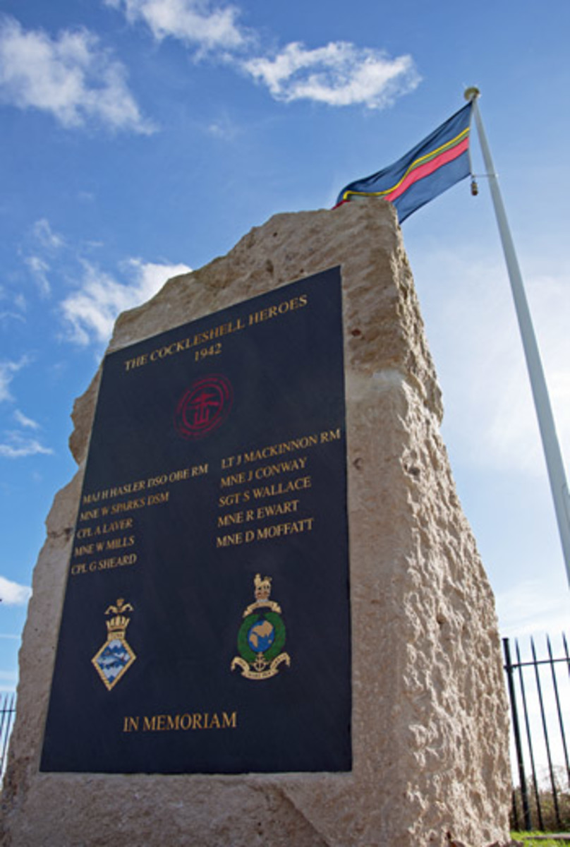 Memorial to Operation Frankton