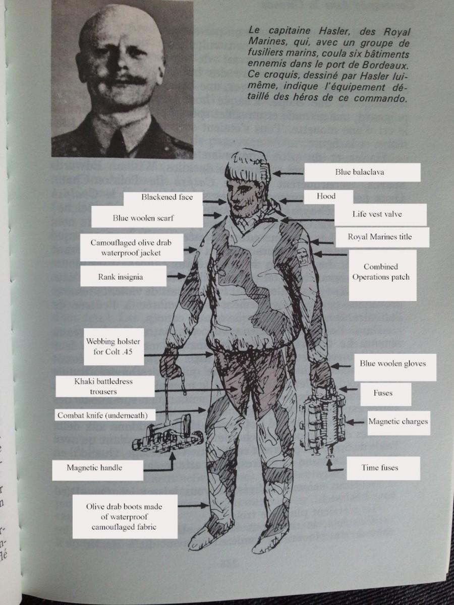 Equipment worn by the men