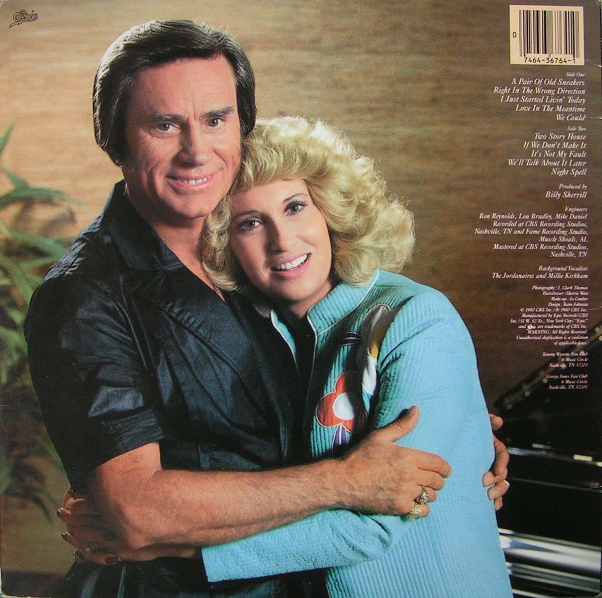 George Jones and Tammy Wynette Jones