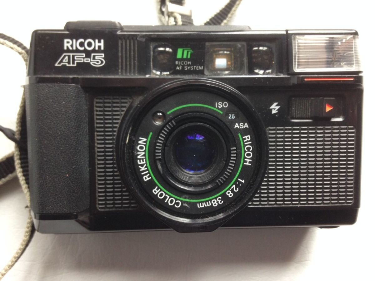 Built to last and last the Ricoh Point and Shoot Camera, the Ricoh AF-5