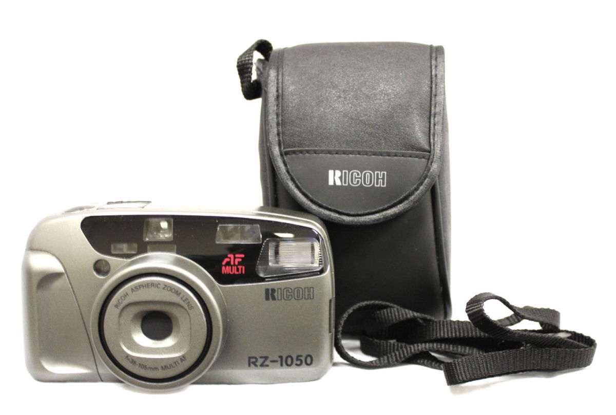 The Ricoh RZ -1050 automatic 35MM AF camera which was fully automatic 35MM AF compact model.