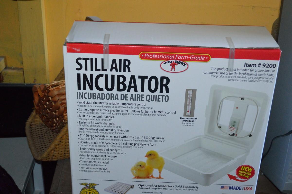 A still-air incubator