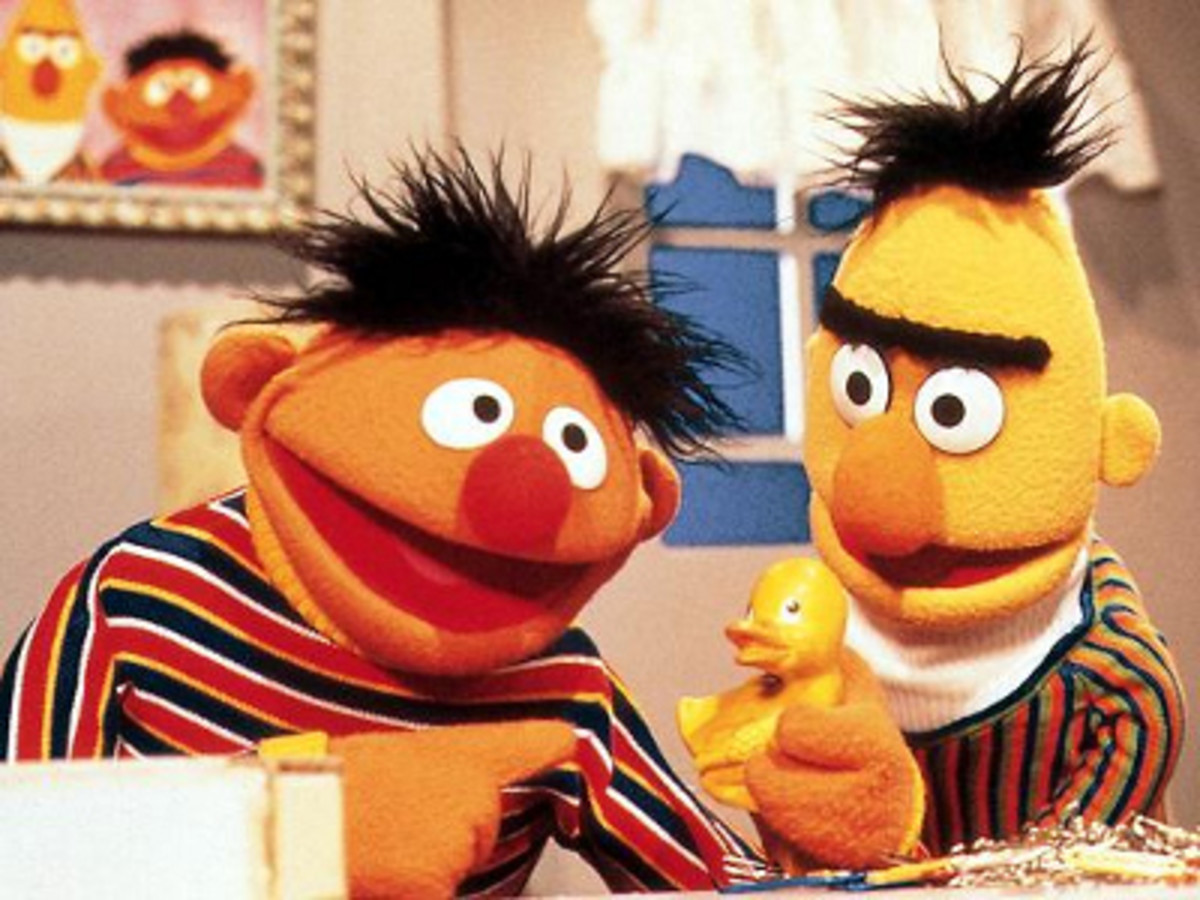 Critic's Corner:  Bert & Ernie are gay!?!
