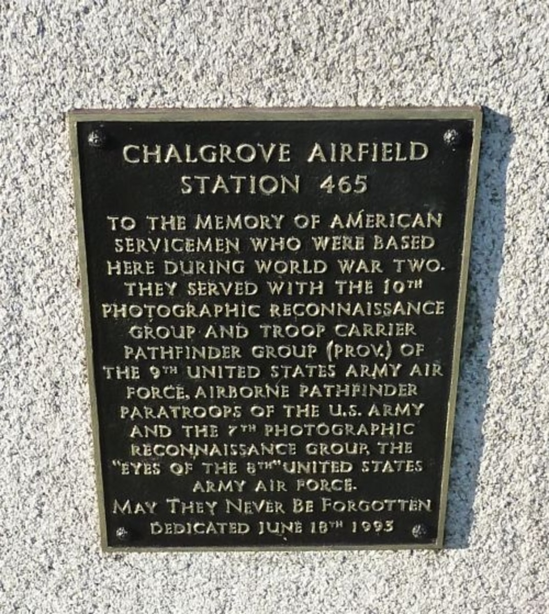 Chalgrove Field Station 465 Memorial