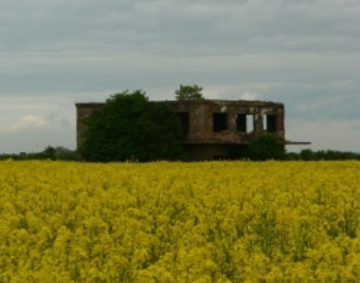 Former World War II Airfields in Oxfordshire