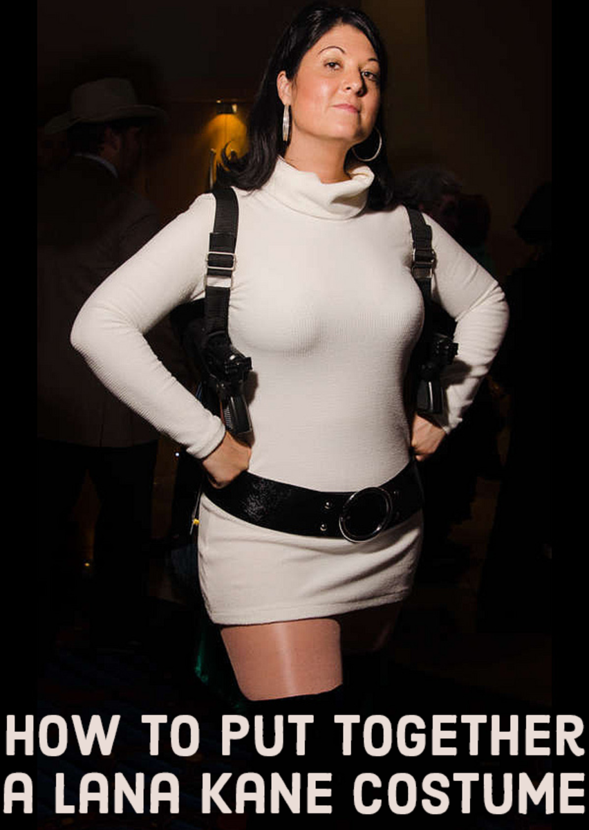 DIY Lana Kane from Archer Costume for Halloween or Cosplay