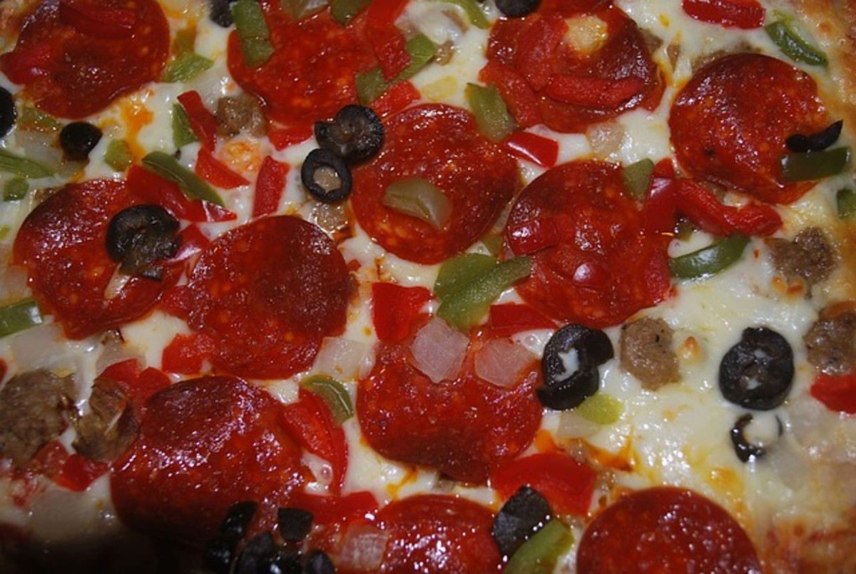 Recipe for Cavatini - Pizza Over Noodles