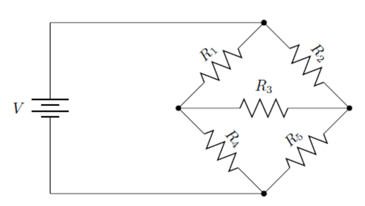 This circuit can't be simplified with only series and parallel substitutions.