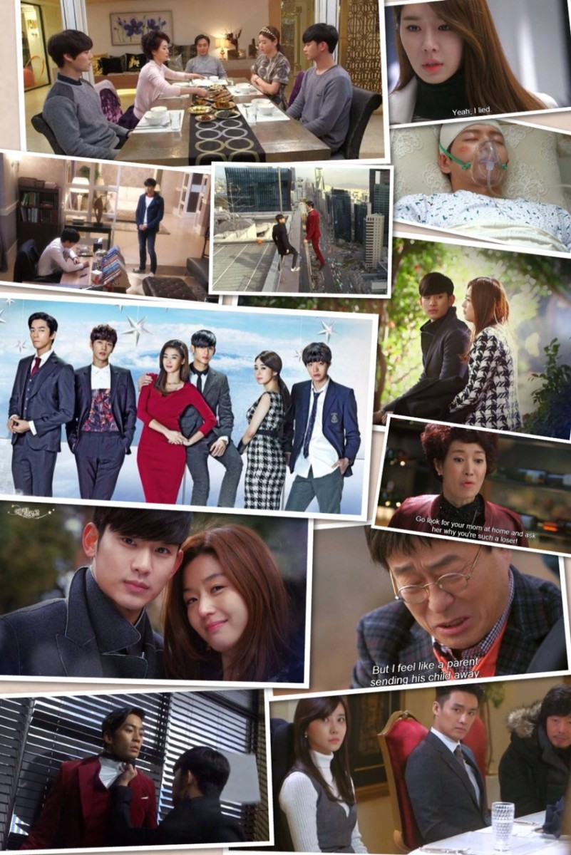 The characters and casts of My Love from the Stars.