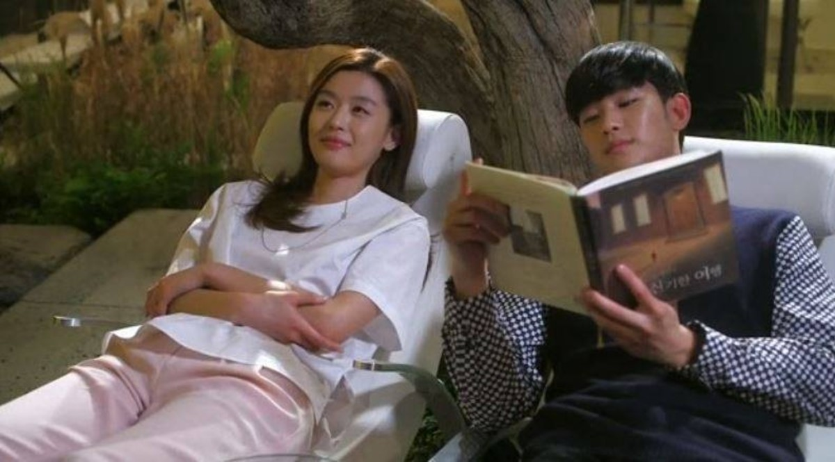 Do Min Joon reading The Miraculous Journey of Edward Tulane to Cheon Song Yi.