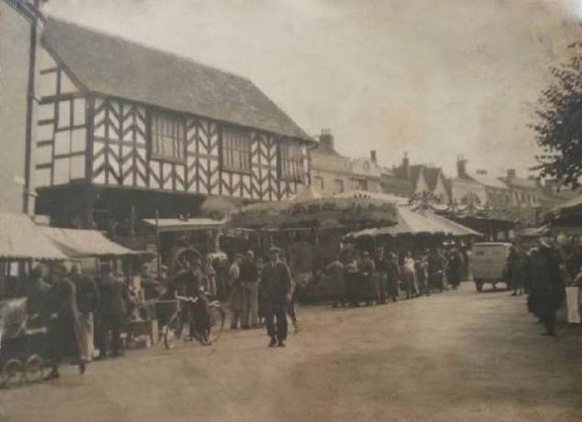 Ledbury Mop Fair, date unknown