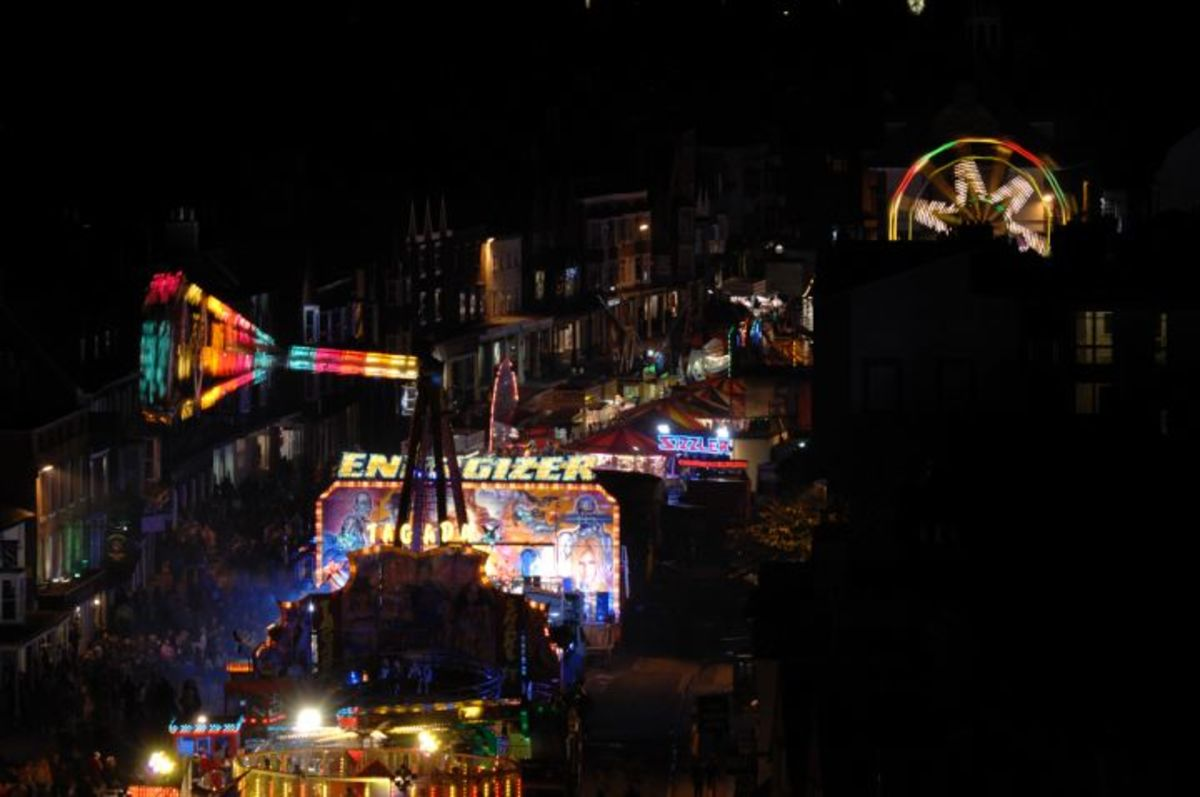 Marlborough Mop Fair, present day