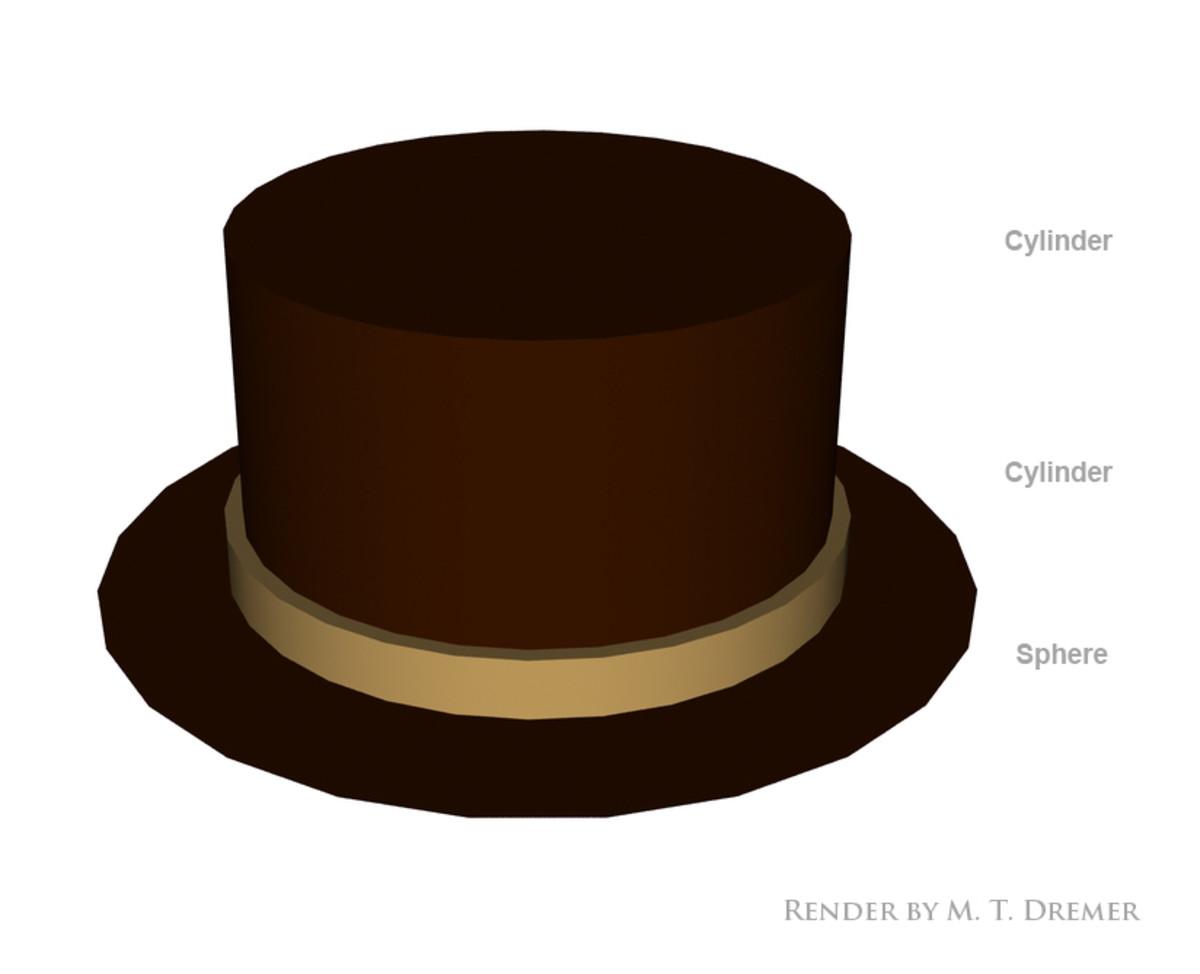 A primitive top hat.