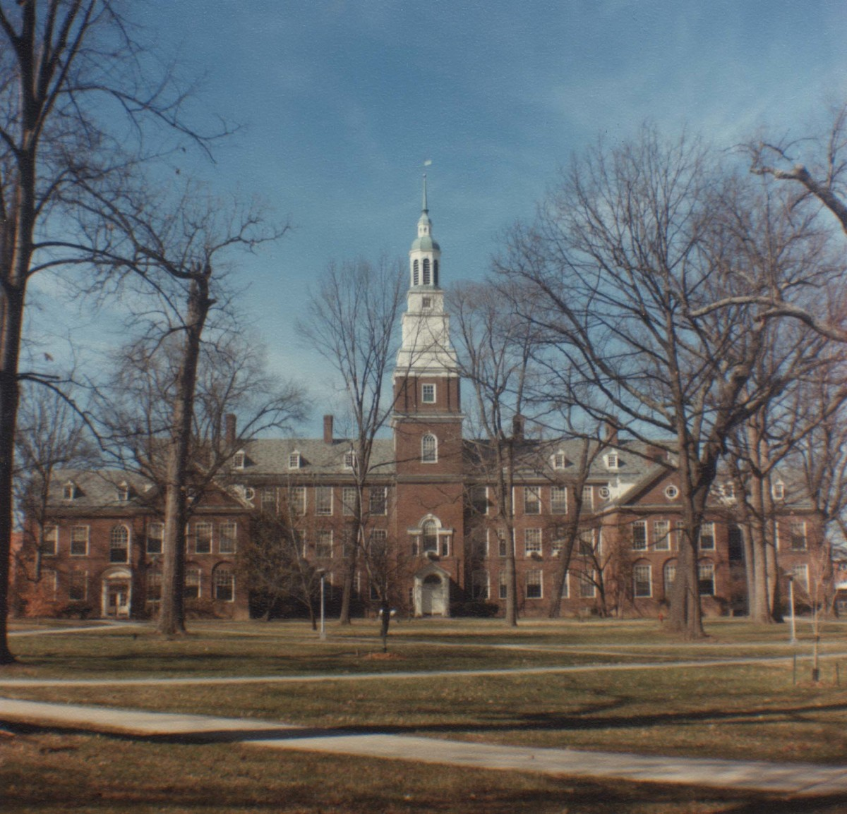 Draper building, modeled after Independence Hall in Philadelphia, is the main campus classroom building. It includes a built-in chapel, the exterior of which is embedded with stones from notable places throughout the world.