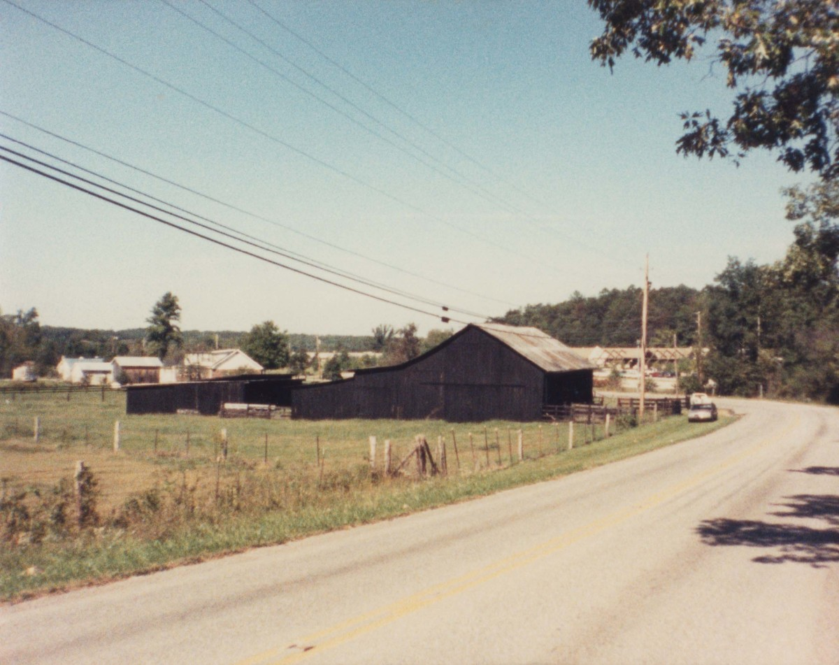 Some of the outskirts of Berea, Kentucky are quite rustic. This picture was taken by the author on bicycle while getting to know the town better.